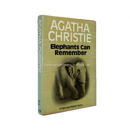 Elephants Can Remember by Agatha Christie First Edition The Crime Club by Collins 1972